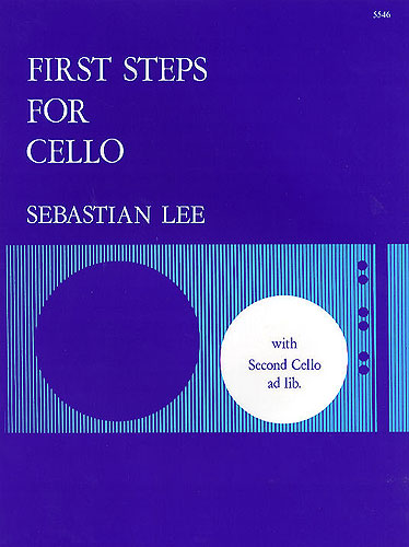 Lee, Sebastian: First Steps For One Or Two Cellos, Op. 101