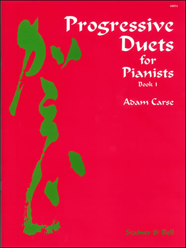 Carse, Adam: Progressive Duets For Pianists. Book 1