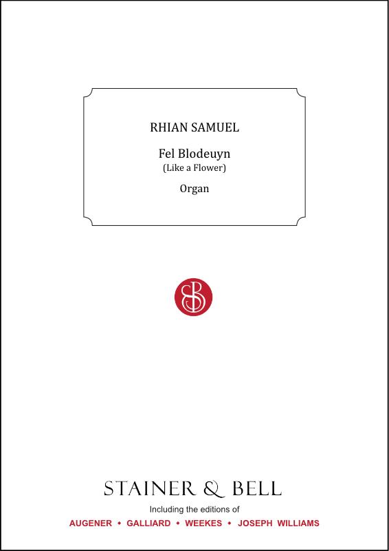 Samuel, Rhian: Fel Blodeuyn (Like A Flower)