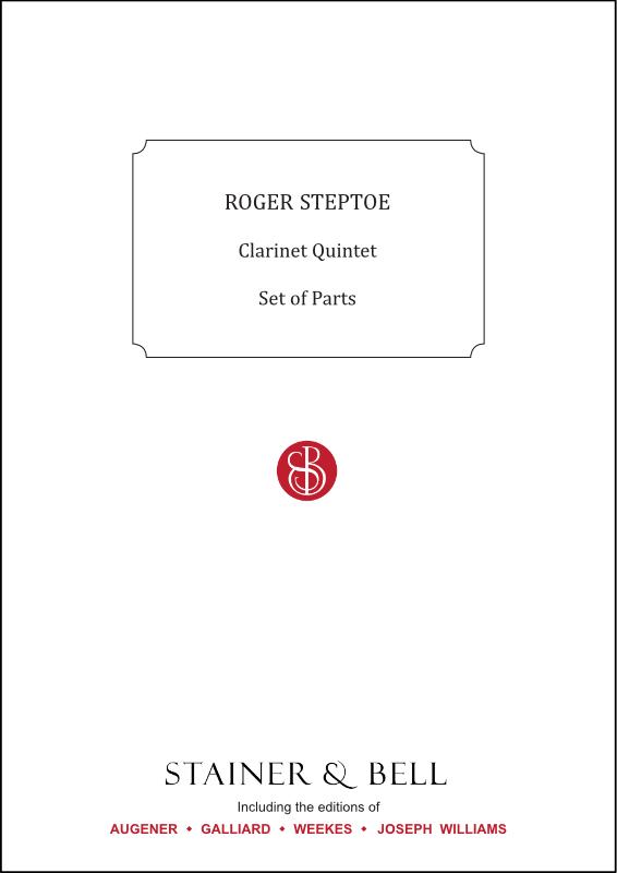 Steptoe, Roger: Clarinet Quintet