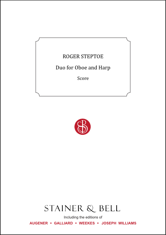 Steptoe, Roger: Duo For Oboe And Harp