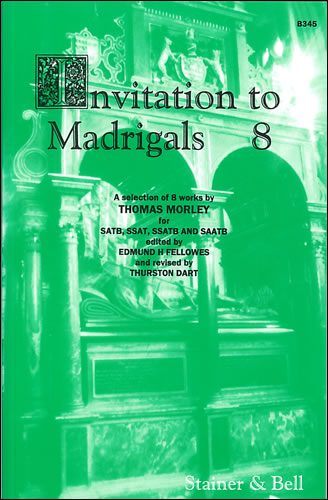 Invitation To Madrigals Book 8