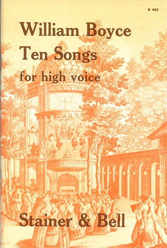 Boyce, William: Ten Songs For High Voice