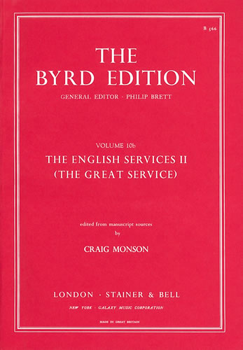 The English Services II – (The Great Service)