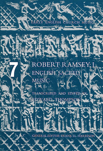Ramsey, Robert: I – English Sacred Music