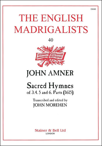 Amner, John: Sacred Hymnes Of Three, Four, Five And Six Parts (1615)