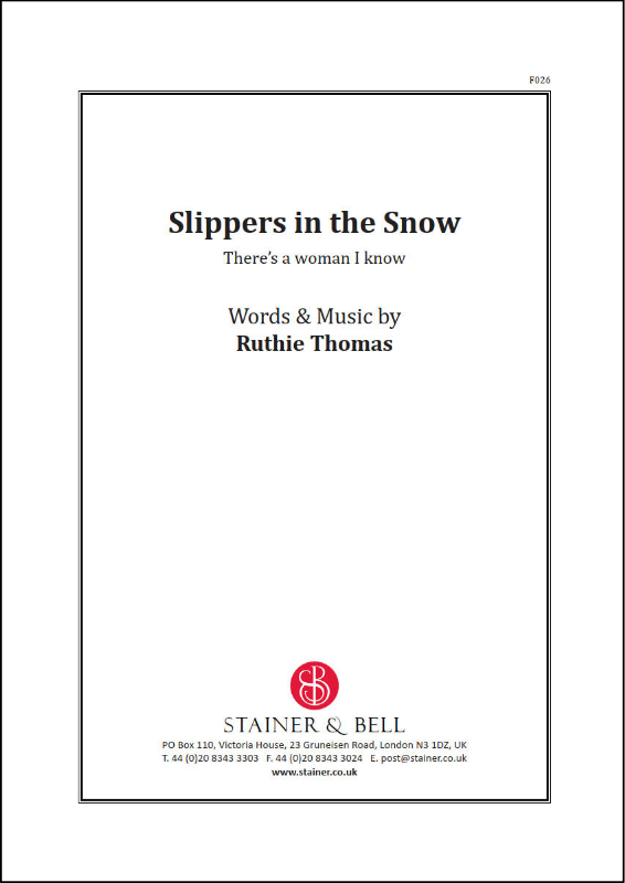 Thomas, Ruthie: Slippers In The Snow. PDF File