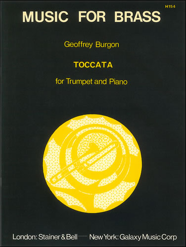 Burgon, Geoffrey: Toccata For Trumpet And Piano
