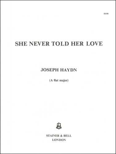 Haydn, Joseph: She Never Told Her Love. A Flat Major