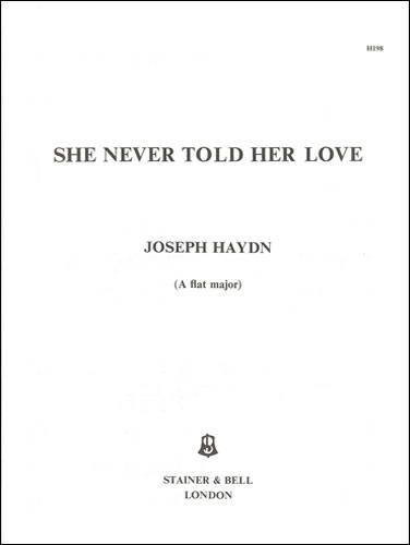 Haydn, Joseph: She Never Told Her Love. A Flat Major