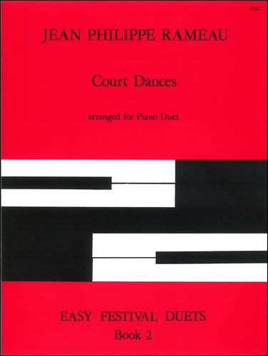 Rameau, Jean-Philippe: Court Dances. Arr Piano Duet