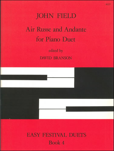 Field, John: Air Russe And Andante. Arr Piano Duet
