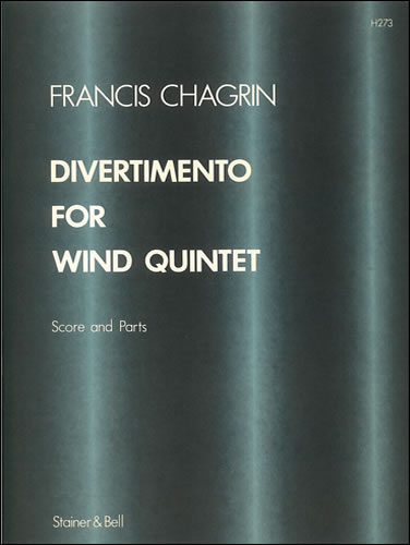 Chagrin, Francis: Divertimento For Flute, Oboe, Clarinet, Horn And Bassoon