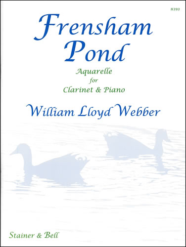 Lloyd Webber, William: Frensham Pond. Aquarelle For Clarinet And Piano