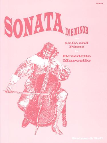 Marcello, Benedetto: Sonata In E Minor For Cello And Piano