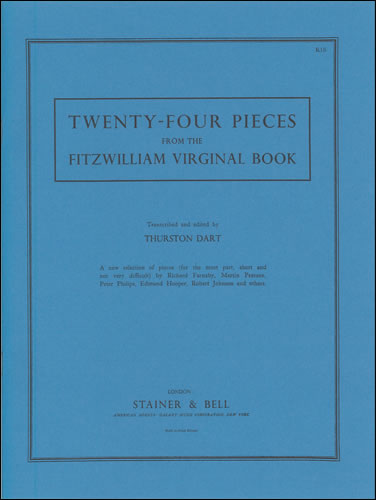 Fitzwilliam Virginal Book, 24 Pieces From The
