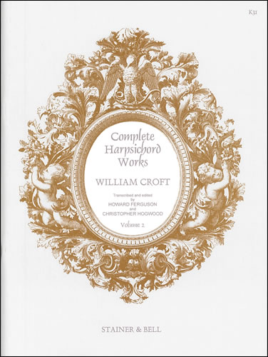 Croft, William Complete Harpsichord Music. Book 2