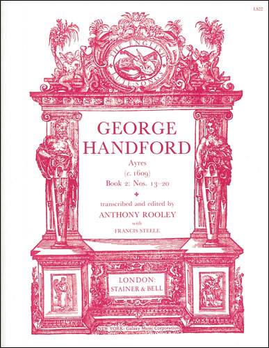 Handford, George: Ayres (c.1609). Book 2