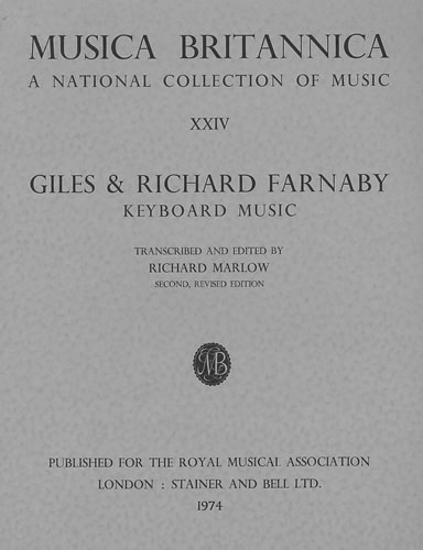 Farnaby, Giles & Richard: Keyboard Music