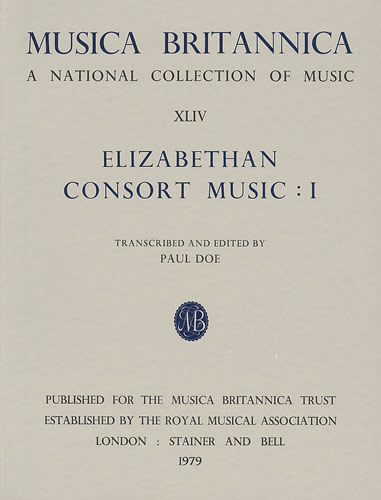 Elizabethan Consort Music I