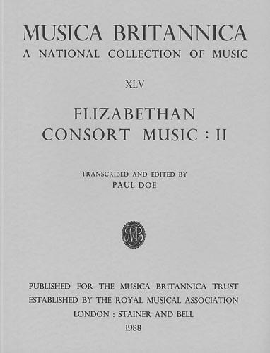Elizabethan Consort Music II