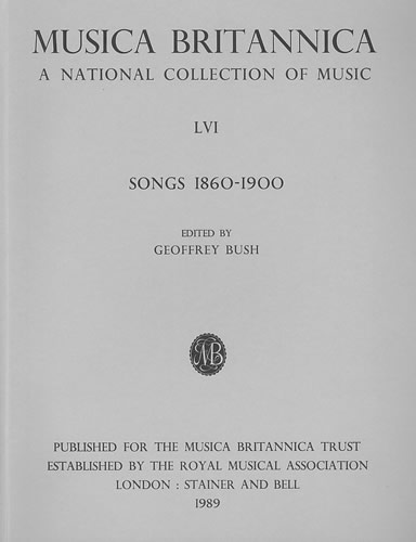 Songs 1860-1900