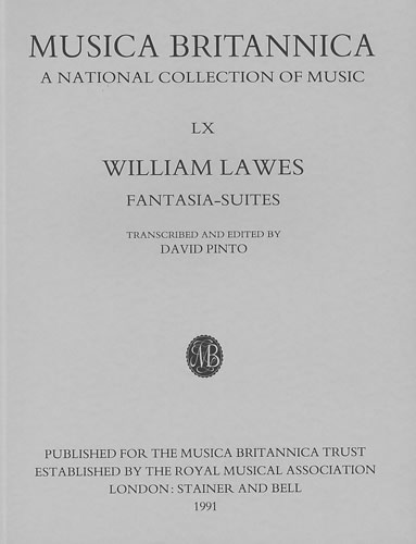 Lawes, William: Fantasia-Suites