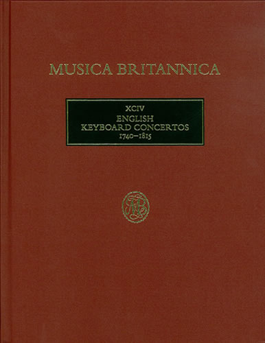 English Keyboard Concertos 1740–1815