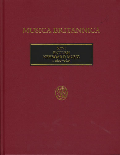 English Keyboard Music C.1600-1625