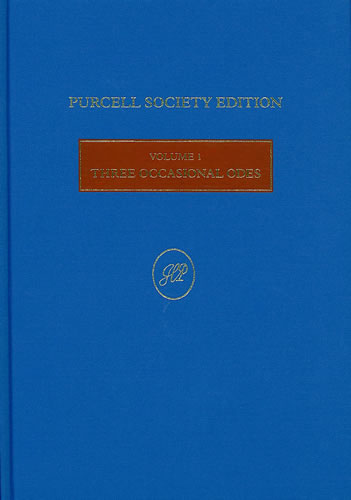 Purcell, Henry: Three Occasional Odes