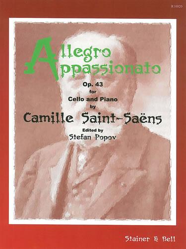 Saint-Saens, Camille: Allegro Appassionato, Op. 43 For Cello And Piano