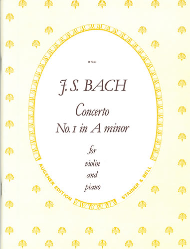 Bach, Johann Sebastian: Concerto In A Minor (BWV 1041)