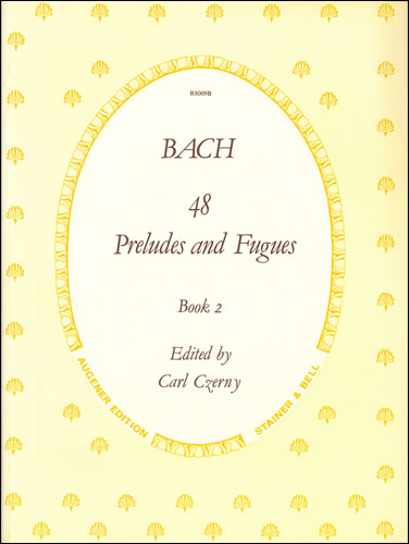Bach, Johann Sebastian: Preludes And Fugues, The 48 .BWV 846-893. Book 2: Nos. 25-48
