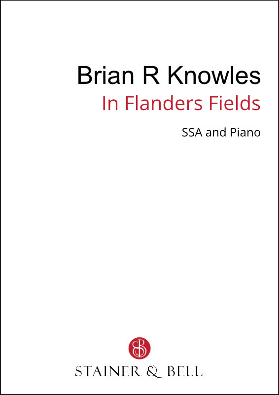 Knowles, Brian R: In Flanders Fields (SSA)
