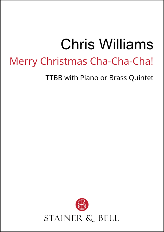 Williams, Chris: Merry Christmas Cha-Cha-Cha! (TTBB)