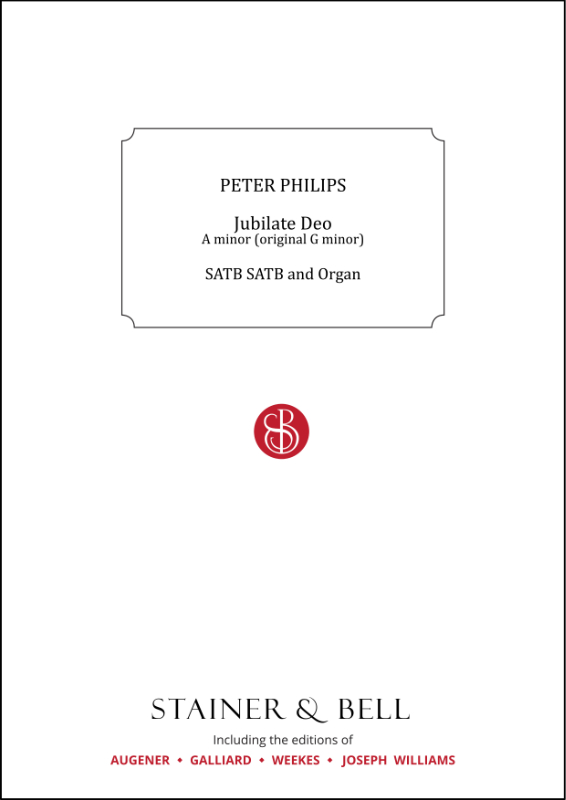 Philips, Peter: Jubilate Deo. A Minor (orig. G Minor)