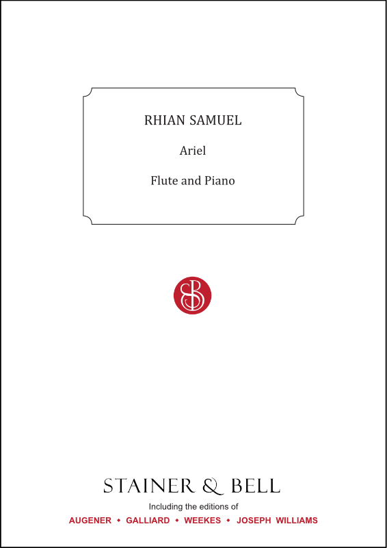 Samuel, Rhian: Ariel For Flute And Piano