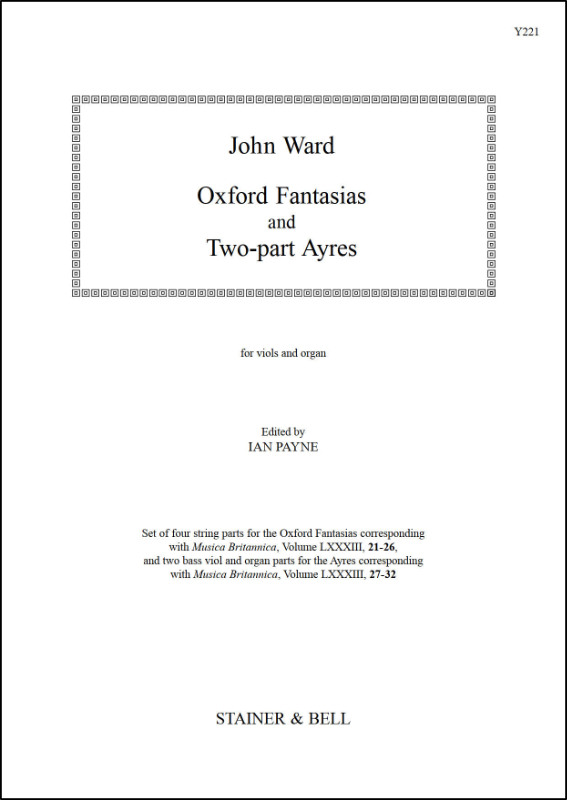 Ward, John: Oxford Fantasias/Two-part Ayres