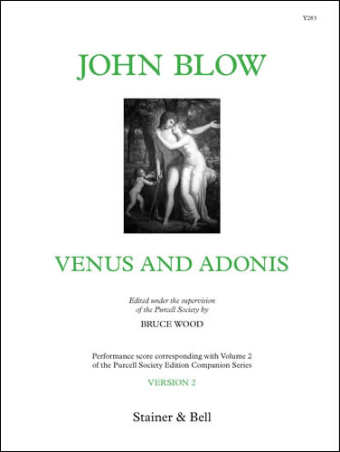 Blow, John: Venus And Adonis. Version 2. Performing Score