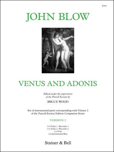 Blow, John: Venus And Adonis. Version 2. Instrumental Parts