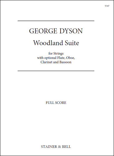 Dyson, George: Woodland Suite For Strings. Full Score