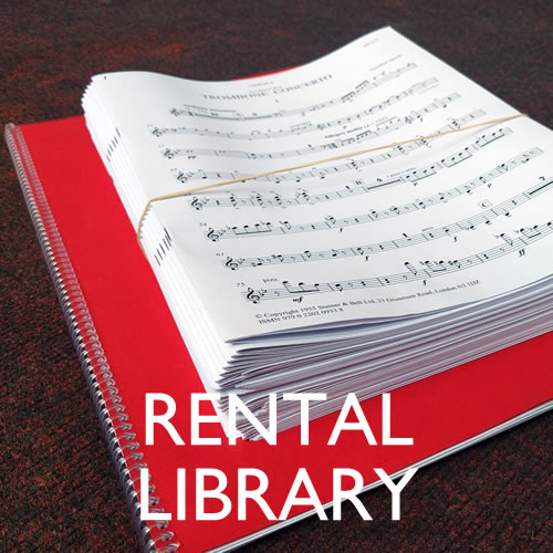 Delius, Frederick: Three Songs. Rental