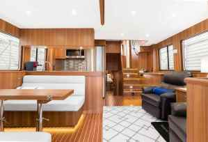 North Pacific Yachts 49 Pilothouse Interior 3