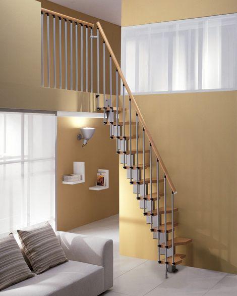 Narrow Spiral Staircase