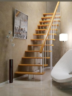 Inexpensive modular stairs