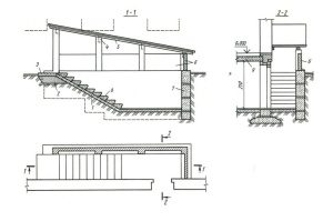 Drawing for the high porch