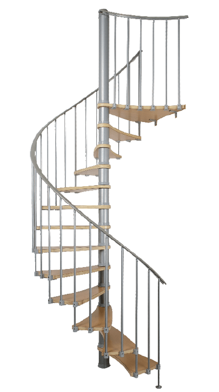 What is the cost of spiral staircases