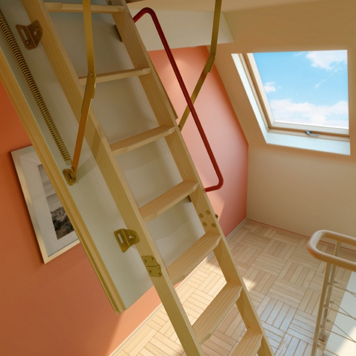 The Convenience And Elegance Of The Attic Ladders Fakro