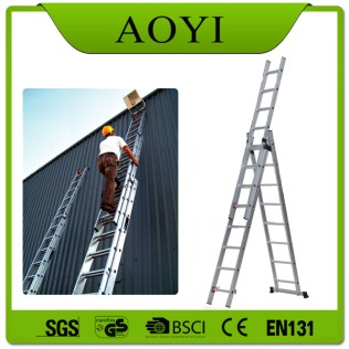 3 section step ladder safety