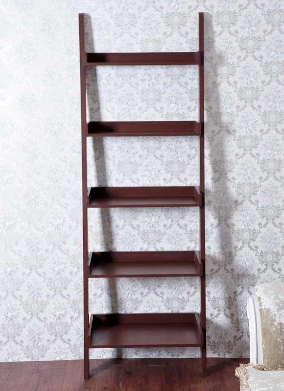 building ladder shelf